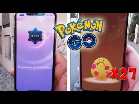 CAPTURO BRONZOR! ABRIENDO 27 HUEVOS de 7 Km de ALOLA en Pokémon GO! [Keibron] thumbnail