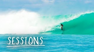 Surfer Josh Kerr celebrates his retirement with style. | Sessions
