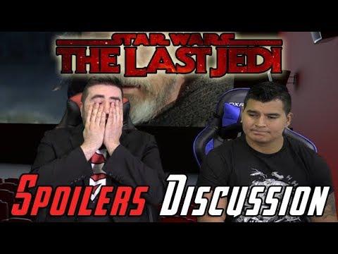 Star Wars: Last Jedi Spoilers Discussion