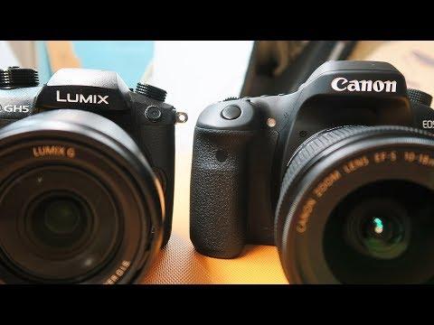 LUMIX GH5 V.S. CANON 80D (New Vlogging Camera)