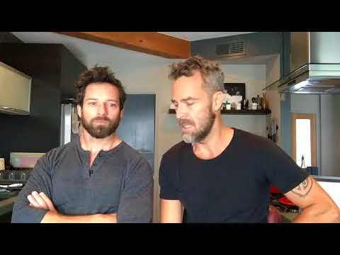 JR Bourne and Ian Bohen Facebook Live  20170826