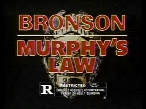 Murphy's Law TV Commercial - 1986 - Charles Bronson