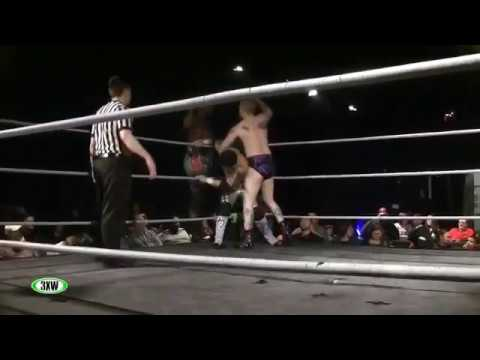 Levi McDaniel & Abu Colossus vs. Ricky Kwong & Aaron Masterson 01/09/2015