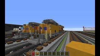I like trains. *Vroom* | Building Trains on CryptoCraft Ft. Husky Railfanner