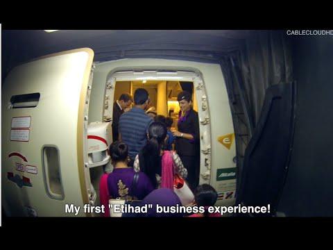 Etihad Business Class ETD253 777-300ER Dhaka to Abu Dhabi