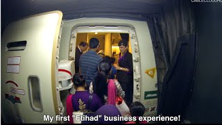 Etihad Business Class ETD253 777-300ER Dhaka to Abu Dhabi