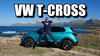 Volkswagen T-Cross - Small SUV With Huge Potential (ENG) - First Test Drive and Review