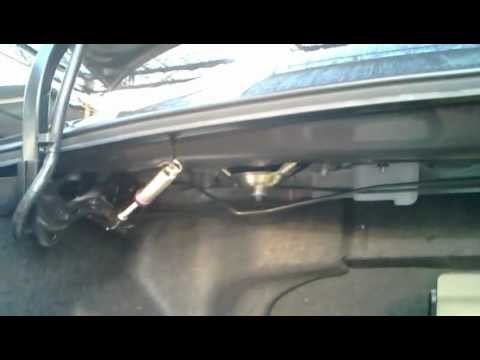 Camry Installed Trunks Spring Mp4 Youtube