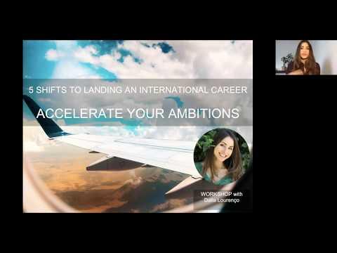 5 Shifts to Landing an International Career