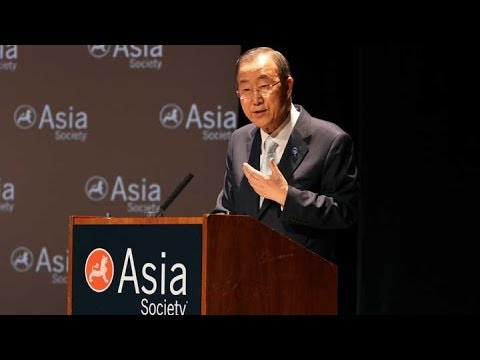 Ban Ki-moon: The Crisis in Syria