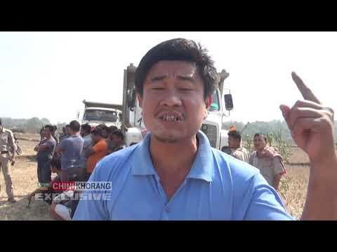 Swbaijakha Khongba #Tipper tei JCB Malkhung-Belbari