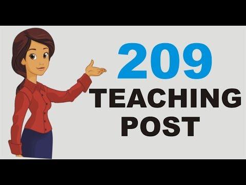 TEACHING POST CALCUTTA UNIVERSITY