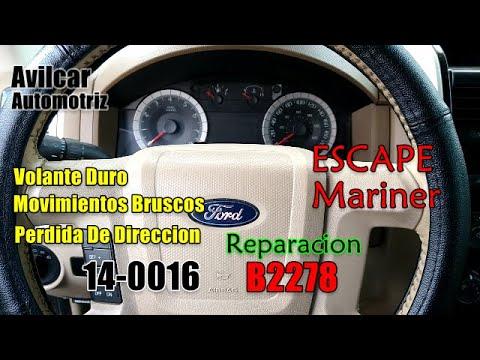Volante Duro Direccion Electronica Ford Escape Mariner B2278 Reparación Programación Avilcar