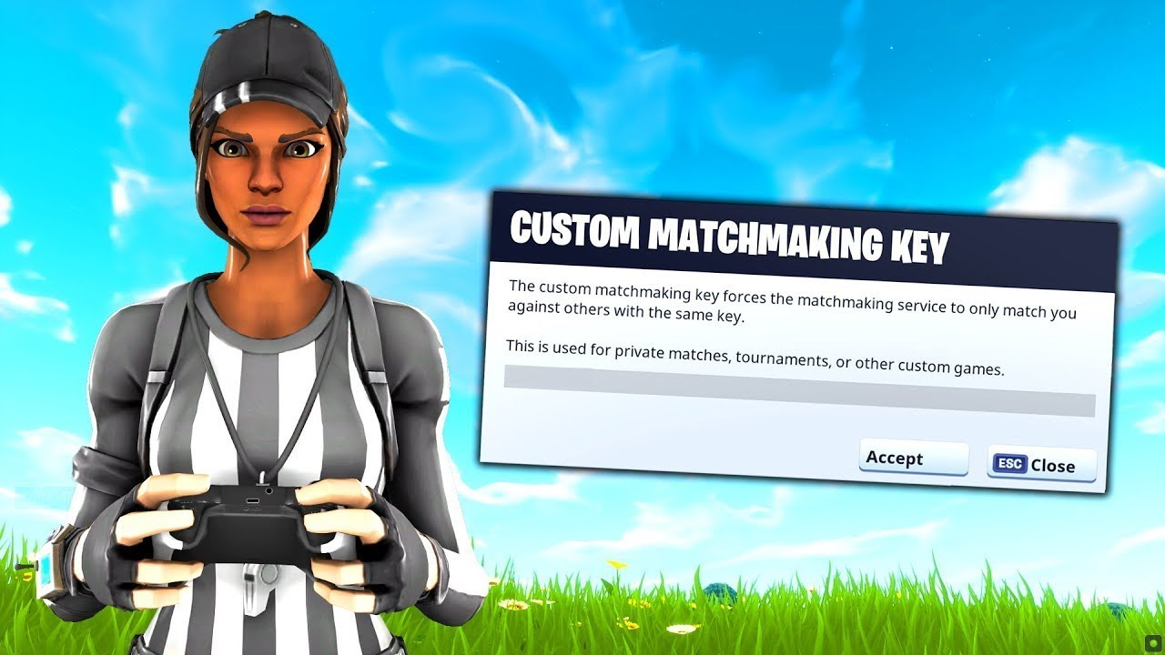 Live Fortnite Custom Matchmaking! Win for a gift! #CustomMatchmaking