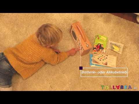 Werbung: Ein langlebiger MP3-Player für Kinder mit tollem Klang | Hörbert ist ein Ohrenschmaus