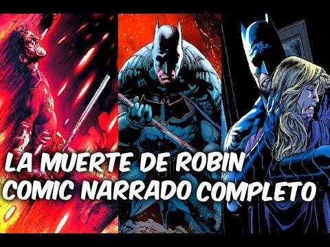 "BATMAN REBIRTH ""LA MUERTE DE ROBIN"" Comic Narrado Completo @SoyComicsTj"