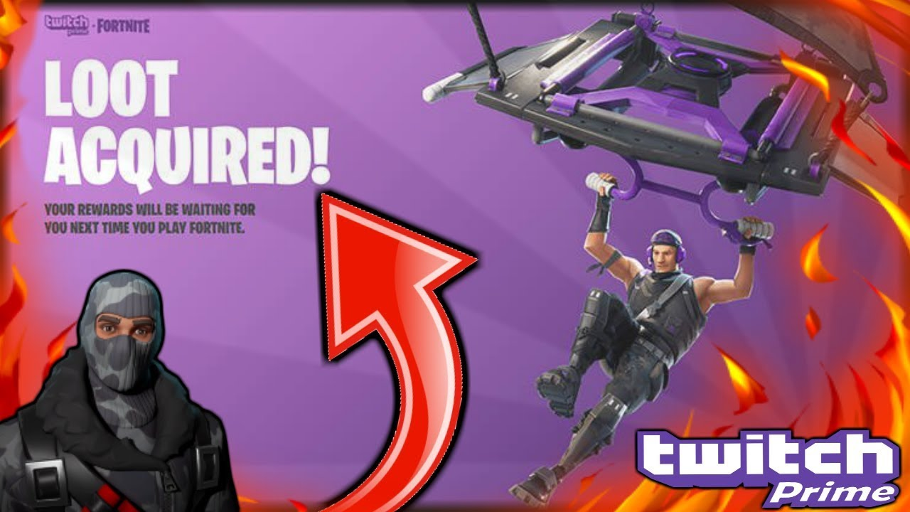 free fortnite twitch prime rewards pack fortnite battle royale - free fortnite loot twitch prime