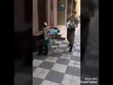 Askerin sevdiğine kavuşma anı