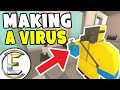 MAKING THE VIRUS - Unturned Roleplay Outbreak Story #1 (We Accidentally Started The Zombie Outbreak)