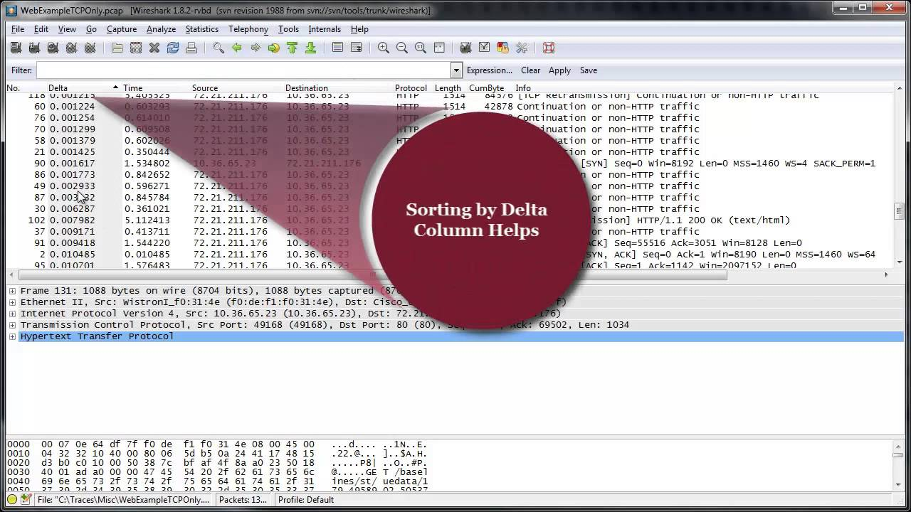 How to setup Wireshark for optimal troubleshooting