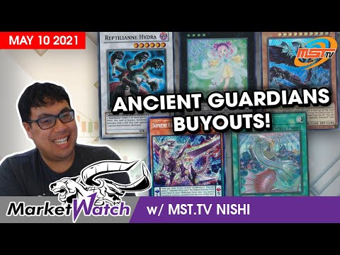 Ancient Guardians is Causing Buyouts Everywhere! Yu-Gi-Oh! Market Watch May 10 2021