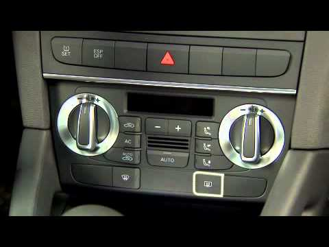 Audi A3 Automatic Climate Control System Youtube