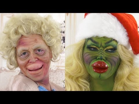 ROXANNE | The Grinch makeup tutorial