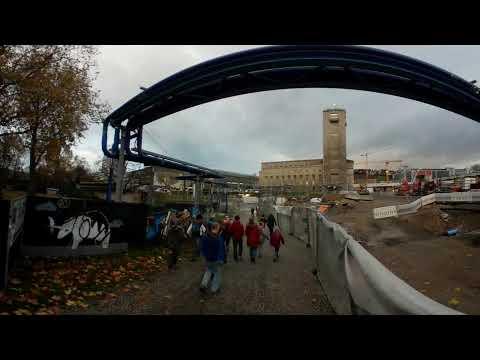 360° Video-Rundgang Stuttgart Hauptbahnhof -  Teil 1 | 27.11.2017 | #S21 #stuttgart21