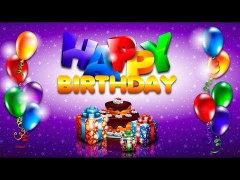 Английский видео-словарь. День рождения на английском языке.