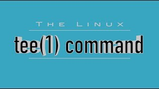 Linux Command 39tee39 - Watch amp Log Command Output