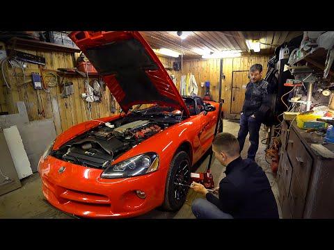 Dodge Viper. Оживление спорткара. Часть 2.