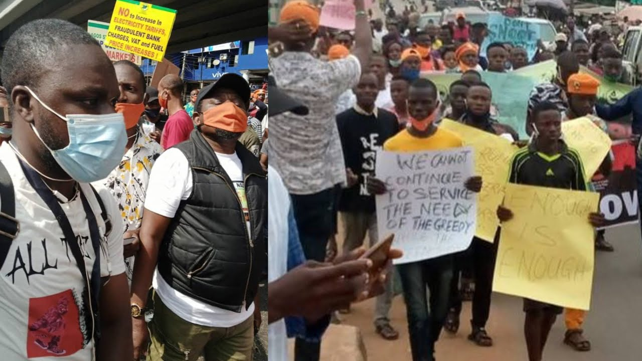 OMOYELE SOWORE DARE FEDERAL AS REVOLUTION PROTEST IN LAGOS STATE