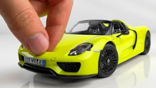 Building a Perfect Tiny  Porsche 918 Spyder Step by Step