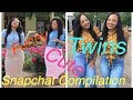 Identical Twins Cutest Funniest Snapchat Stories Compilation | Star and Sky pt.1