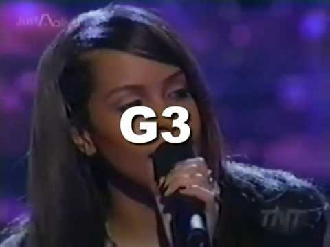 Aaliyah  The One I Gave My Heart To   Vocal Showcase: G3  A5