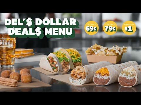 Del Taco's New Del's Dollar Deal Value Menu Includes Habanero Grilled Chicken Taco