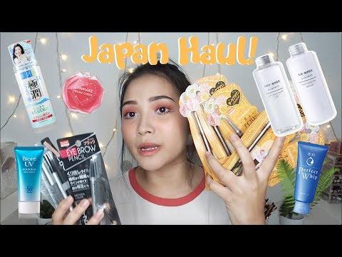 Japan Haul // Makeup, Skincare, Clothing etc