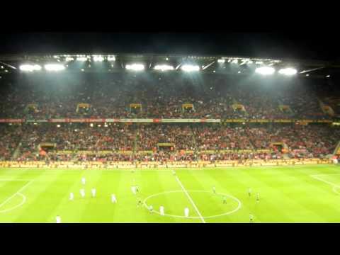 Spectacular goal by Lukas Podolski(16.Oct.2011 1. FC Köln (2-0) Hannover 96 - )
