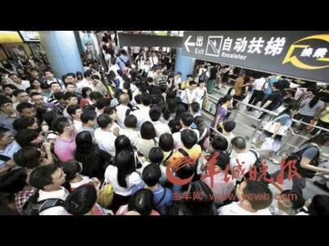 Crowded Beijing Transportation - China (HD1080p)