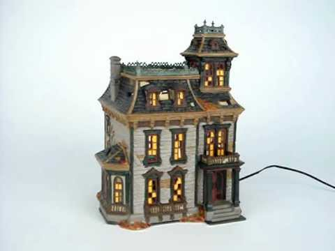 mordecai mansion 4025337 department 56 snow village halloween