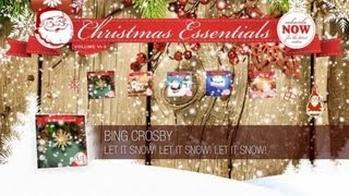 Bing Crosby - Let It Snow! Let It Snow! Let It Snow! // Christmas Essentials