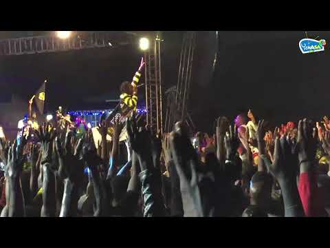 Stonebwoy  performs at S Concert 2018