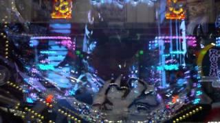 ぱちんこ 必殺仕事人Ⅳより 主水必殺リーチ中のサプライズボタン出現から...