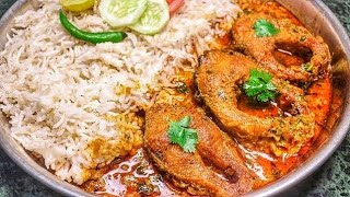 Village style Fish Curry   How To Make Rohu Fish Curry   Bihari style fish curry   Raj