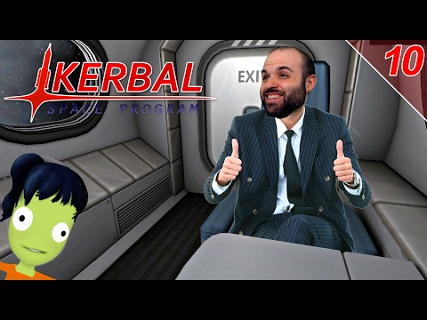 EL RESCATE DE SALLY KERMAN | KERBAL SPACE PROGRAM Gameplay Español