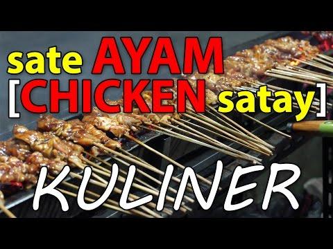 Indonesia Culinary // Sate Ayam [Chicken Satay // Jakarta Street Food