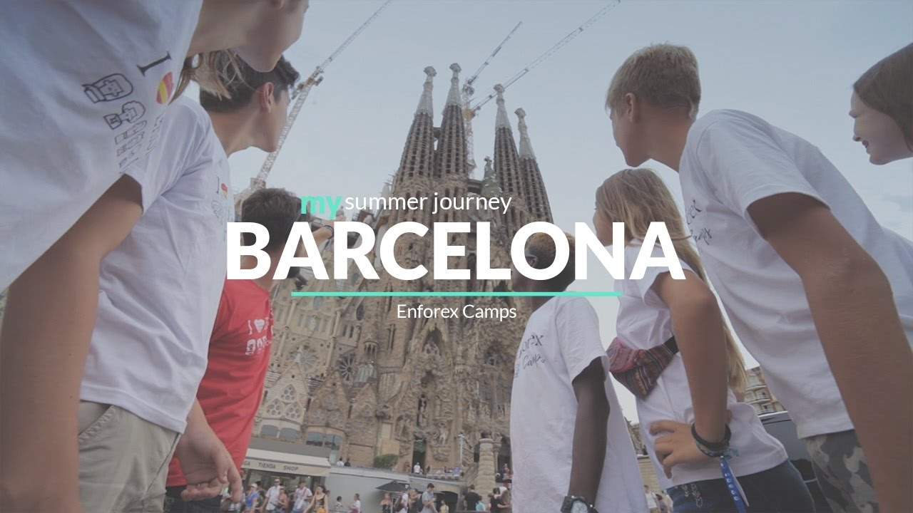 enforex camps barcelona - summer camps in spain - youtube