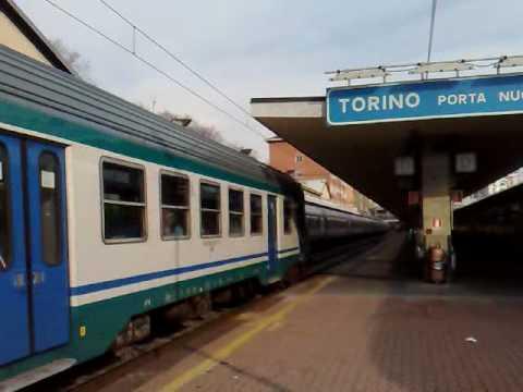 Reg 9845 torino porta nuova aosta youtube - Orari treni porta nuova torino ...