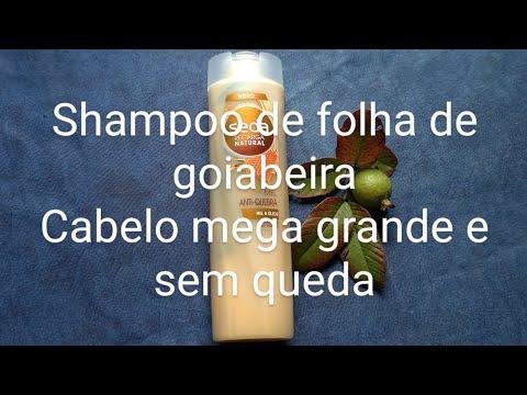Shampoo caseiro anti-queda