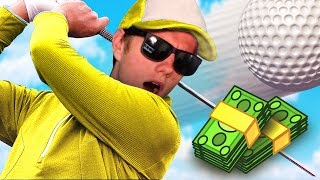 MONEY WAGER! (GOLF WITH NEW FRIENDS)